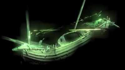 Epava veche de 500 de ani, gasita intacta in Marea Baltica. Parca s-ar fi scufundat ieri (Video)
