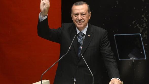 Erdogan anunta ca statul va prelua controlul celei mai mari banci din Turcia