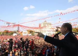 Erdogan vrea sa faca referendum sa-i intrebe pe turci daca mai vor sau nu in UE
