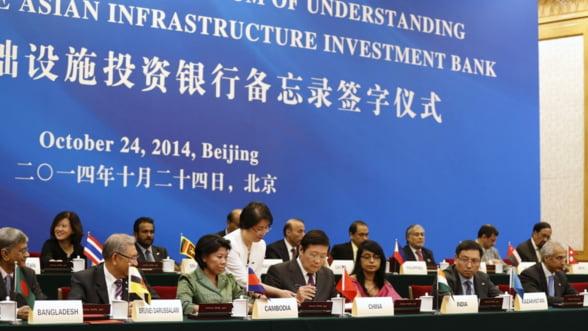 Esec total pentru SUA: Toata lumea prefera versiunea chineza a Bancii Mondiale