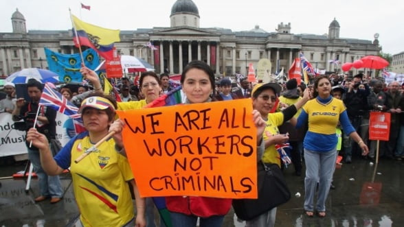 Estimare oficiala: 15.000-25.000 de romani vor merge in Marea Britanie din 2014