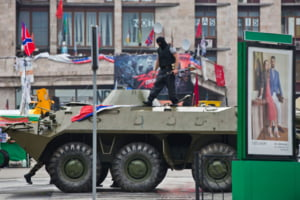 Estul Ucrainei, un camp de lupta - Imagini inedite din mijlocul razboiului