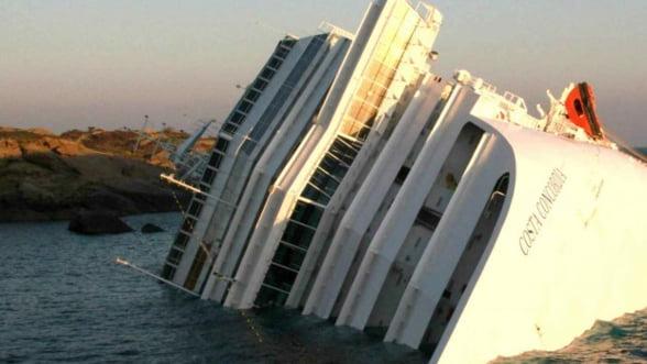 Esuarea vasului Costa Concordia: Pierderi de 85 de milioane de dolari