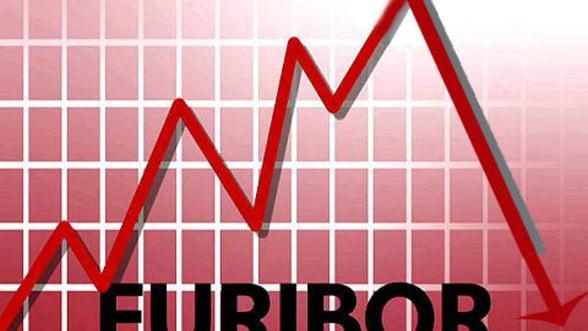 Euribor atinge marti un nou record istoric: 0,521%