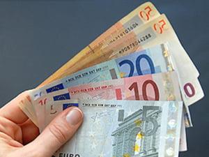 Euro trece de 4 lei la Revelion