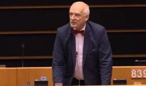 Europarlamentar polonez: Femeile nu trebuie sa castige cat barbatii. Sunt mai mici si mai putin inteligente (Video)