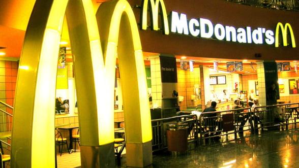 Europenii adora fast-food-ul! Vanzarile McDonald's au crescut cu 10%
