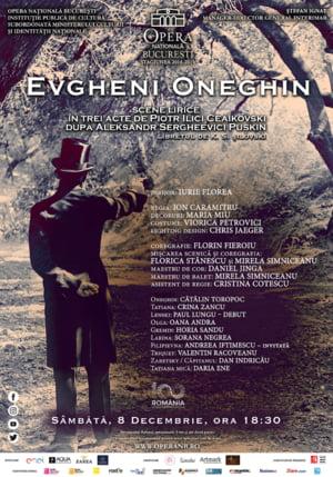 Evgheni Oneghin, in regia lui Ion Caramitru, pe scena Operei Nationale Bucuresti