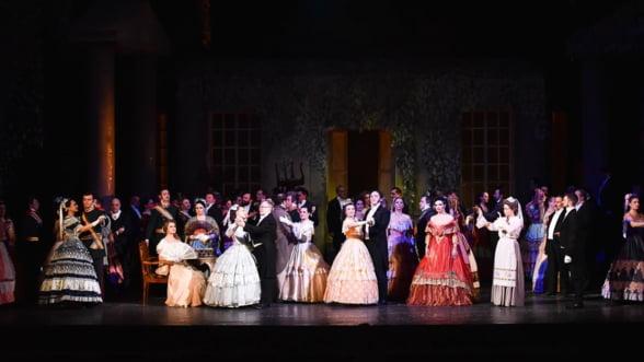 Evgheni Oneghin in regia lui Ion Caramitru, pe scena Operei Nationale Bucuresti