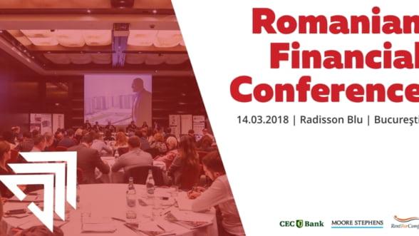 Evolutia sectorului financiar-bancar este dezbatuta in cadrul evenimentului Romanian Financial Conference