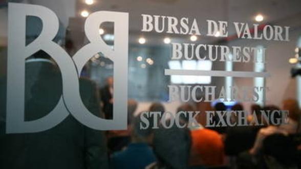 Evolutie burse, 5 septembrie: BVB a scazut cu 0,37%