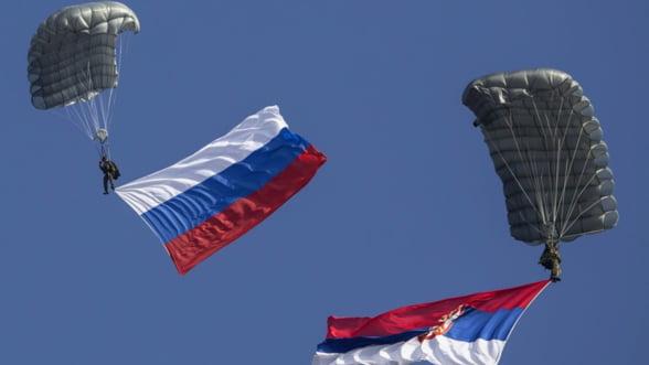 Exercitii militare comune Serbia-Rusia: Belgradul face echilibristica intre Moscova si Occident