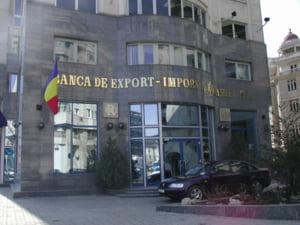 Eximbank a redus comisioanele cu 50% si a inghetat dobanzile la credite