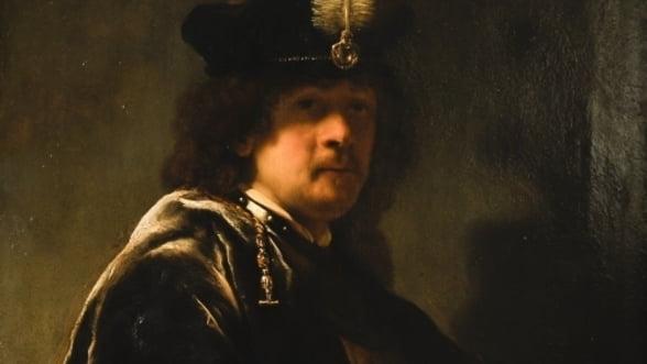Expertii confirma: Autoportretul lui Rembrand de la 29 de ani este autentic