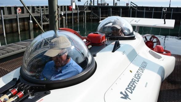Exploreaza adancurile la bordul unui adevarat pradator subacvatic