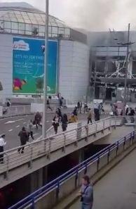 Explozii in Bruxelles, la aeroport si la metrou - cel putin 13 morti si zeci de raniti