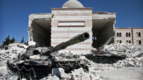 Exporta cele mai multe arme in Siria, dar nu vor refugiati: Tarile care intretin razboiul civil