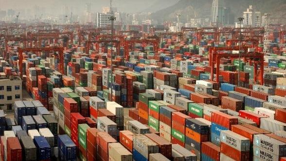 Exporturile Romaniei au scazut cu 1% in T1