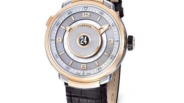 Faberge Visionnaire Double Timezone, o bijuterie de ceas pentru un barbat elegant