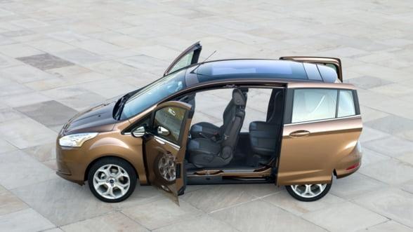 Fabrica Ford de la Craiova produce 500 de masini B-max pe zi