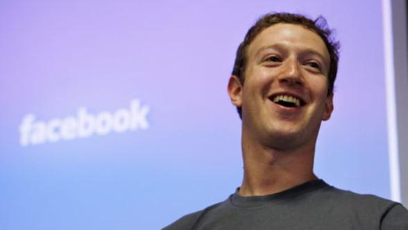 Facebook: Salariul lui Zuckerberg si al celor mai bine platiti angajati