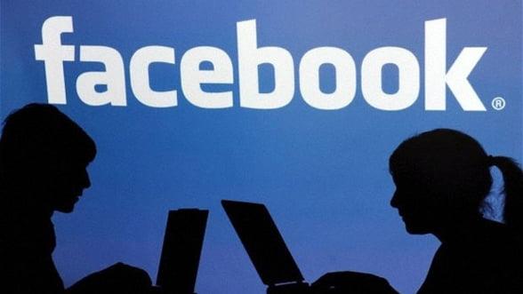 Facebook: Utilizatorii romani, din ce in ce mai multi
