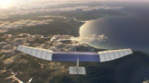 Facebook isi face sute de drone solare mai mari ca un Boeing 767