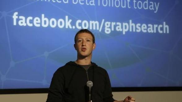 Facebook lanseaza un motor de cautare in cadrul propriei retele