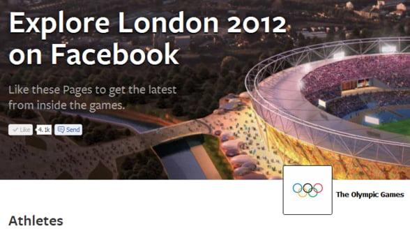 Facebook participa la Jocurile Olimpice