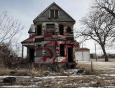 Falimentul orasului Detroit. Adevarul despre casele care se vand cu un dolar