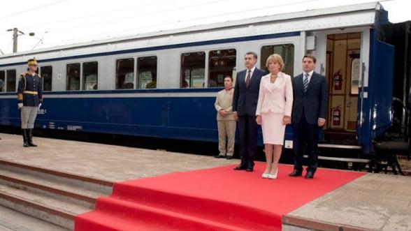 Familia Regala, calatorie cu Trenul Regal la Craiova