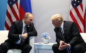 Fara o intalnire oficiala in Vietnam, Putin si Trump au discutat din mers si au emis o declaratie comuna