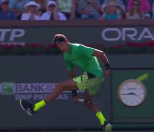 Faza zilei in tenis: Iata ce lovitura incredibila a reusit Del Potro la Indian Wells (Video)