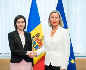 Federica Mogherini: UE este gata sa sporeasca sprijinul financiar pentru Republica Moldova