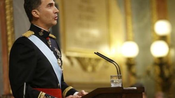 Felipe al VI-lea, proclamat rege al Spaniei