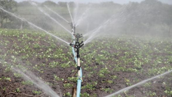 Fermierii au la dispozitie 200 de milioane de euro pentru irigatii. Fondurile nu sunt inca epuizate