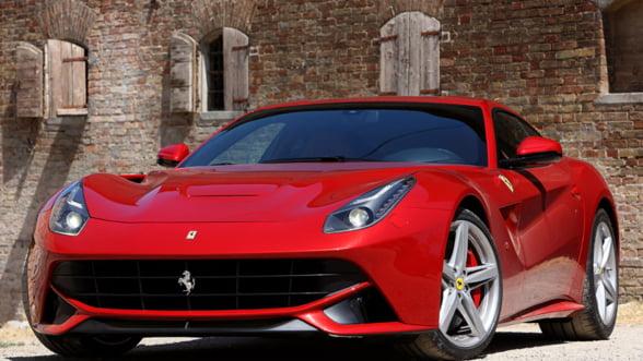 Ferrari a lansat F12 Berlinetta in Romania. Galerie foto