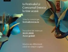 Festivalul George Enescu, disponibil online gratuit: Nu platiti bilete, dar puteti dona pentru spitale