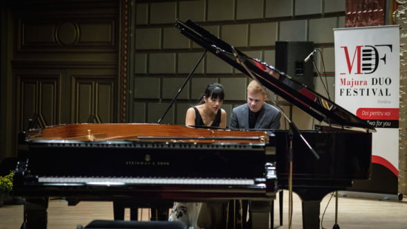 Festivalul de pian Majura Duo a incantat peste 1.000 de melomani la cea de-a doua editie