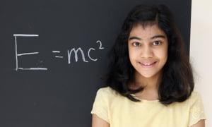 Fetita de 12 ani, cu un IQ mai mare decat Albert Einstein sau Stephen Hawking