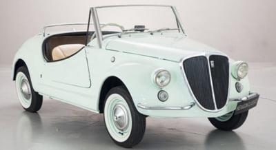 Fiat 500 Gamine Vignale, piesa rara pusa la licitatie. Esti gata sa lupti pentru ea?