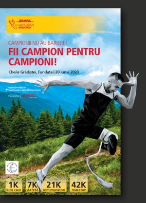 Fii campion pentru campioni si inscrie-te la cea de-a 11-a editie DHL Carpathian Marathon