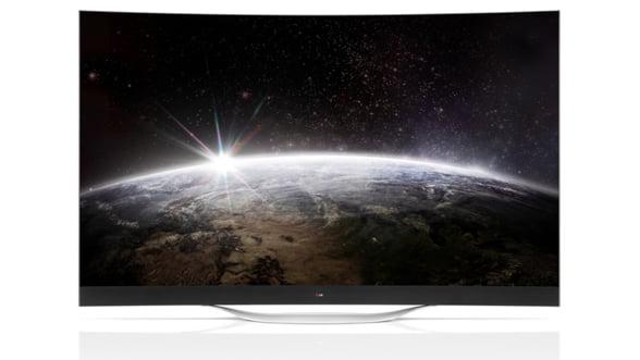 Fii cu ochii pe primul televizor OLED 4K cu ecran curbat