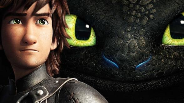 """Filmul """"Cum sa iti dresezi dragonul 2"""" va avea premiera pe 20 iunie pe marile ecrane din Romania - trailer"""