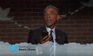 Filmuletul de un milion de afisari intr-o singura zi: Obama il ironizeaza pe Trump (Video)