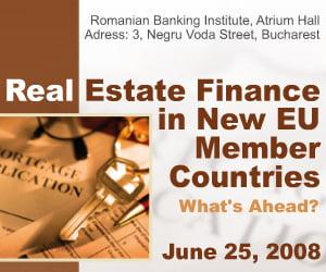 Finantarea in domeniul imobiliar in tarile noi membre UE. Tendinte