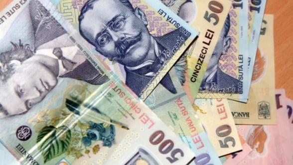 Finantele au atras 400 milioane lei prin obligatiuni pe zece ani, la un randament in scadere