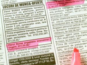 Firmele din Bucuresti ofera 565 locuri de munca