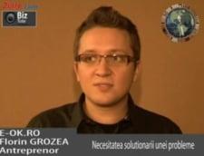 Florin Grozea, antreprenor Eok.ro