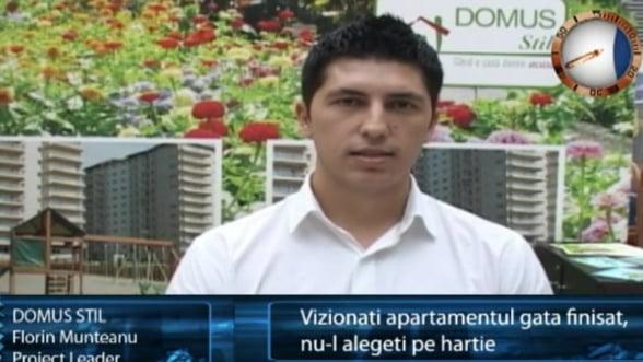 Florin Munteanu, project leader Domus Stil